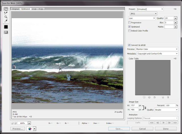 save hasil editing gambar denga photoshop