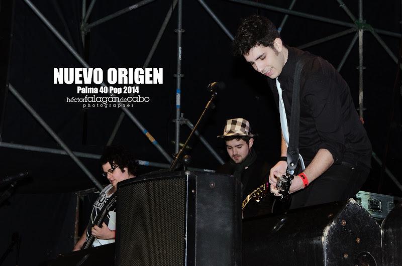 Nuevo Origen en el Palma 40 Pop 2014. Héctor Falagán De Cabo | hfilms & photography.