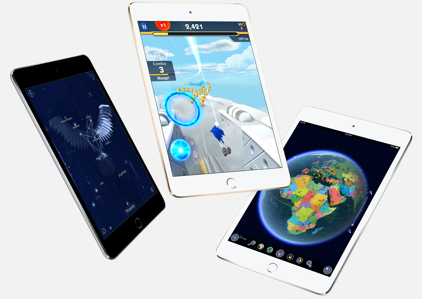 Apple iPad mini 4 tablets