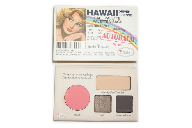 theBalm Autobalm Hawaii Face Palette
