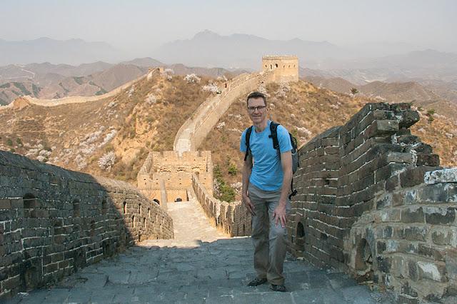 Moi sur la Grande Muraille de Chine