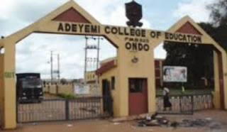ACEONDO Part-Time 2017/2018 NCE (Sandwich) Admission Form Out