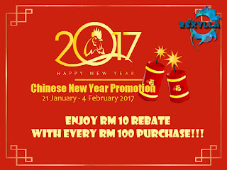 happy chinese new year, selamat menyambut tahun baru cina, cny, rexylla, promotion