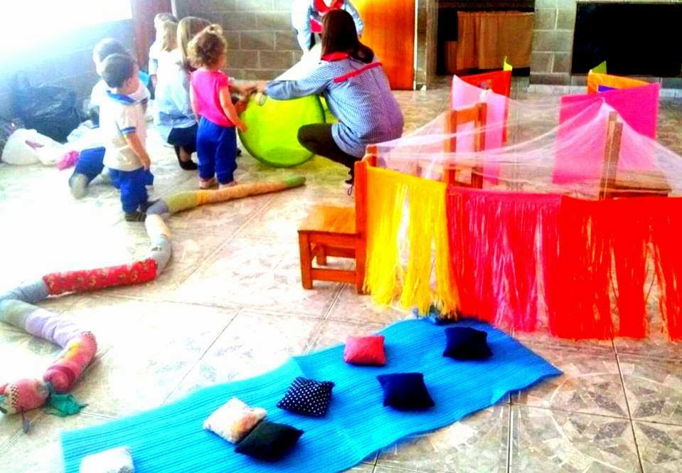Marinearte compartiendo experiencias en el jard n maternal - Alfombras para jugar ninos ...