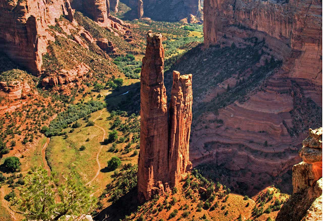 Spider Rock – Arizona | A torre de pedra do Canyon de Chelly