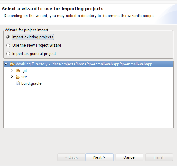 Things happened in my life: How to import Git projects from