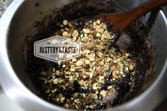Resep Chocolate Almond Biscotti