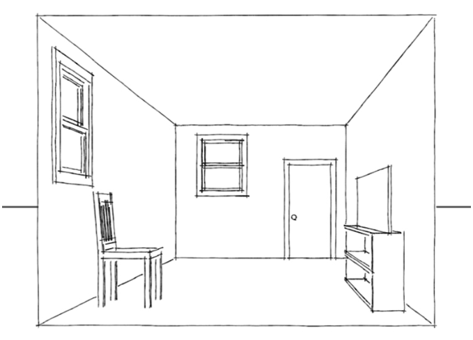Line Drawing Of Your House : How to learn or improve drawing sketching skills