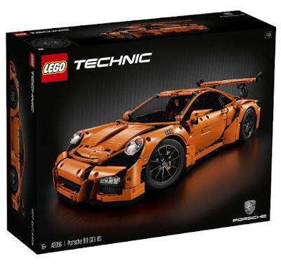 TOYS : JUGUETES - LEGO Technic  42056 Porsche 911 GT3 RS  Producto Oficial 2016 | Piezas: 2704 | Edad: +16  Comprar en Amazon España & buy Amazon USA