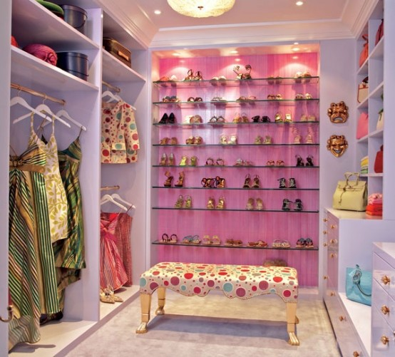 Walk in closet guardarropas vestidores grandes amplios for Closet juveniles modernos