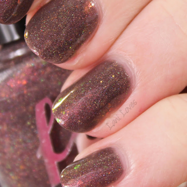 Femme Fatale Cosmetics Shadow Radiance Nail Polish Swatches & Review