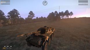 Arma3用南アフリカ軍MODのRooikat 76 装輪装甲車