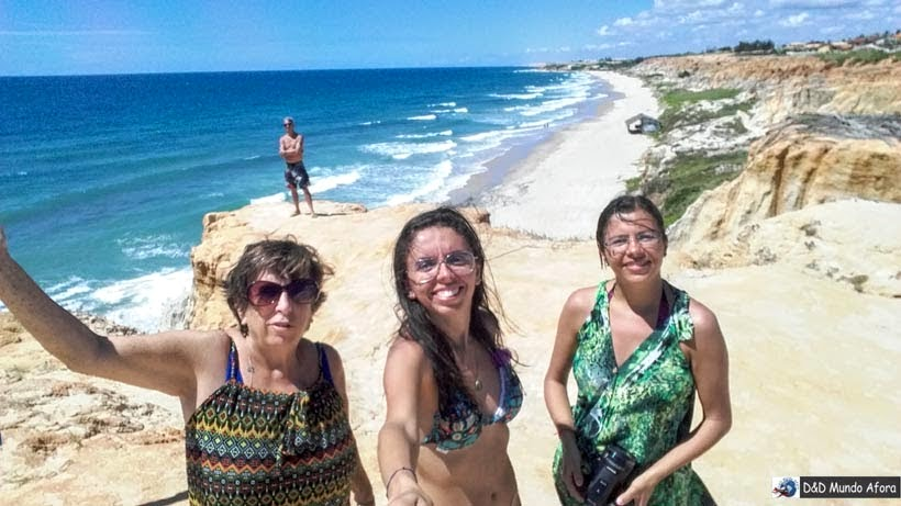 Praia das Fontes - Tour 3 Praias com Morro Branco