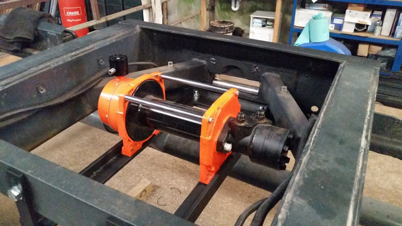 how to build a winch