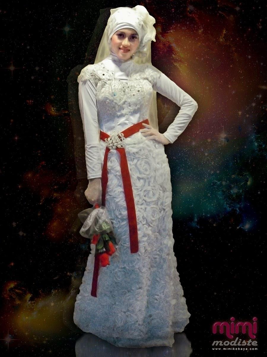 Trend Model Kebaya Muslim Terbaru Simple Dan Elegan Gaun Pengantinku