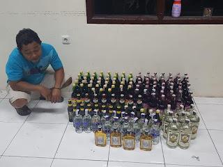 Tim Cobra Polres Lumajang Amankan 136 Miras Ilegal