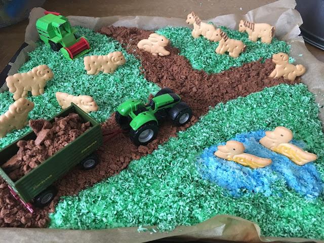 Kuchen Bauernhof