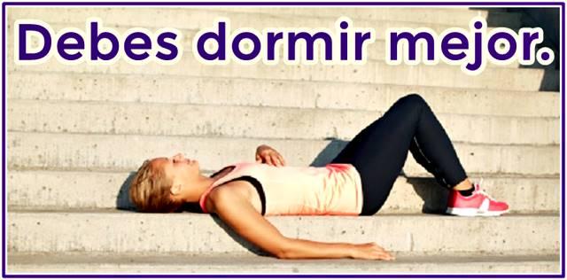 Dormir es clave para recuperarse de la fatiga muscular