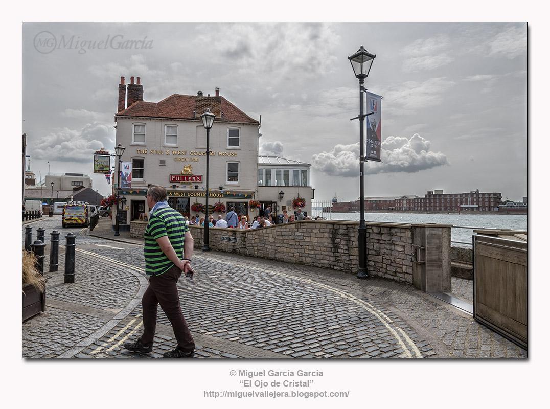 """Old Portsmouth, restaurante """"The Still & West"""""""