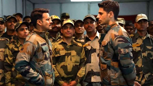 Manoj Bajpayee and Sidharth Malhotra in Aiyaary