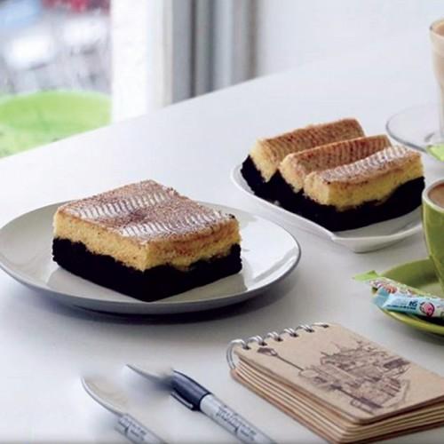 Resep Brownies Kukus Tiramisu Yang Enak