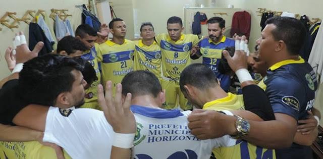 Horizonte Futsal goleia o Parma-PI e faz 'final' contra o Náutico no Sábado (11).