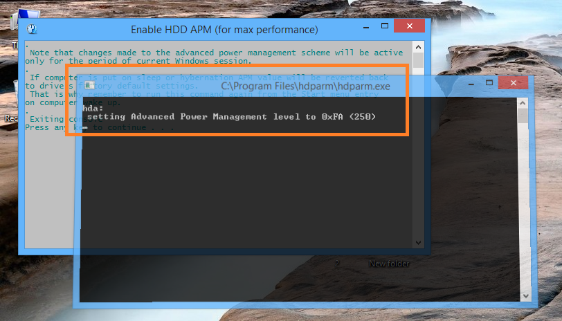 HDPARM TOOL FOR WINDOWS: HDPARM - HELP & HOW TO