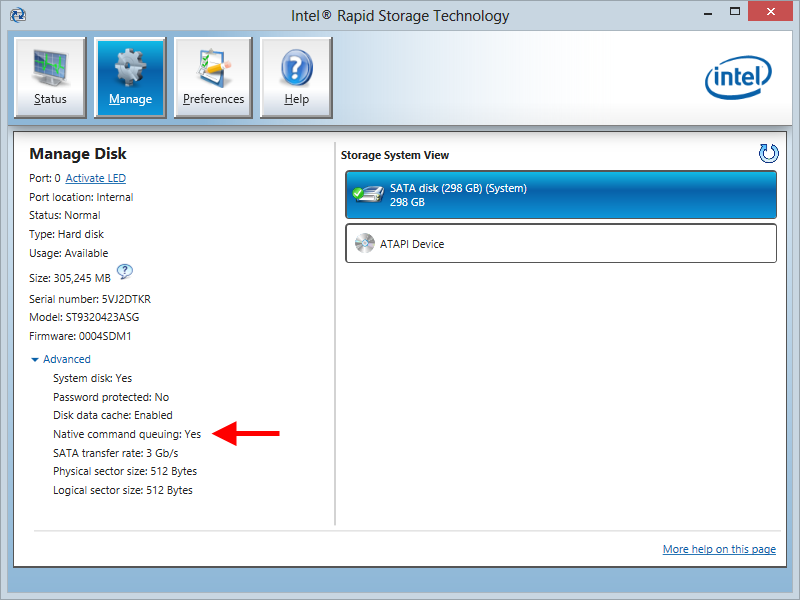 Dan Dar3: Windows 8 with Intel Rapid Storage (RST) driver
