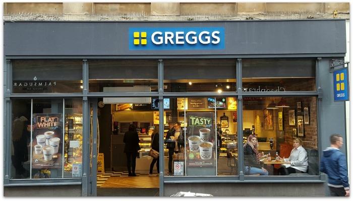 Greggs Glasgow