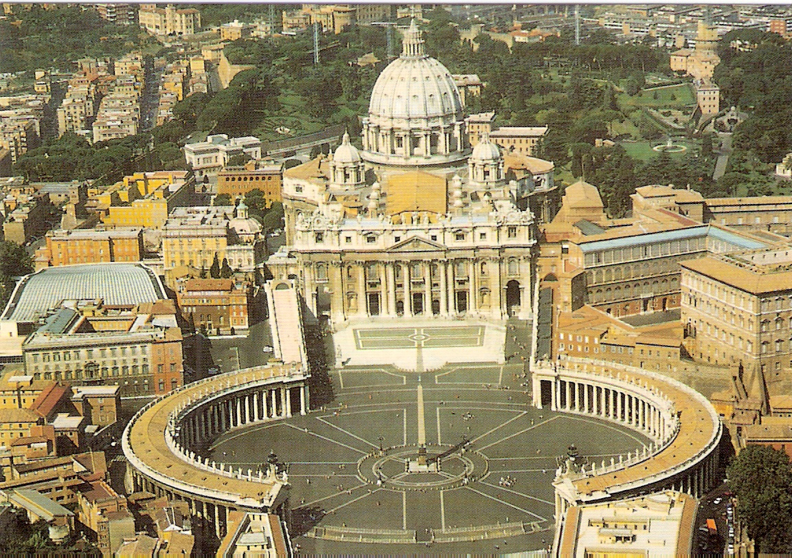Bernini Mysterie World Heritage Stamps And Postcards Holy See Vatican