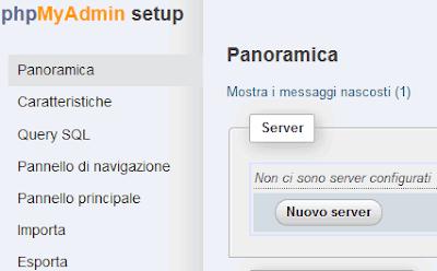 Come configurare phpmyadmin per renderlo più sicuro