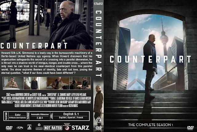 Counterpart Season 1 DVD Cover