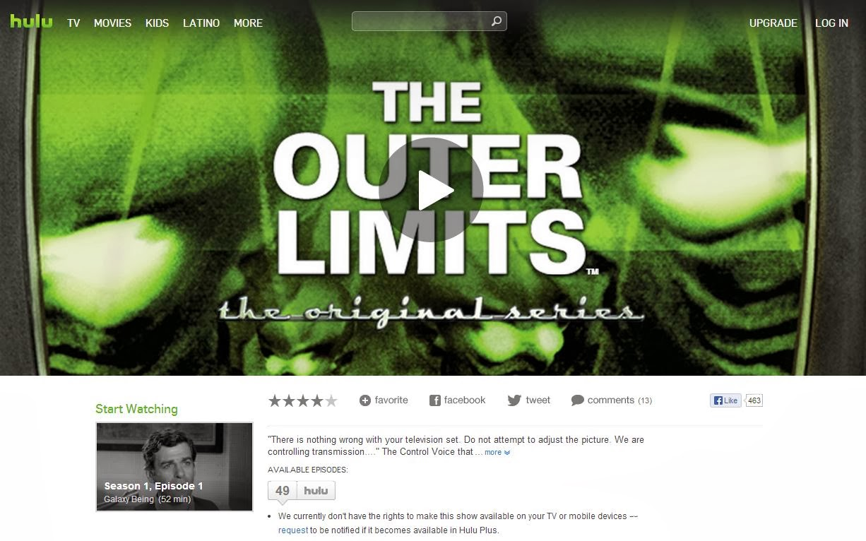 My Life in the Glow of The Outer Limits: Episode Spotlight