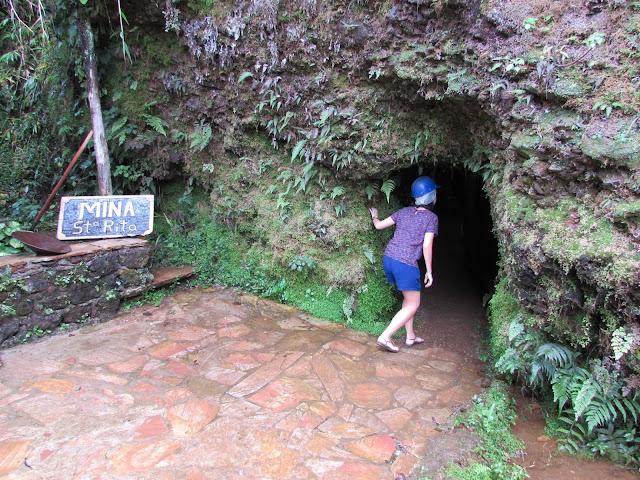 Mina Santa Rita, passeio a Ouro Preto
