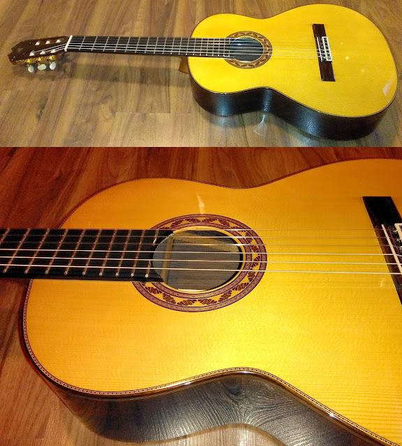 Guitarra española Prudencio Sáez 138