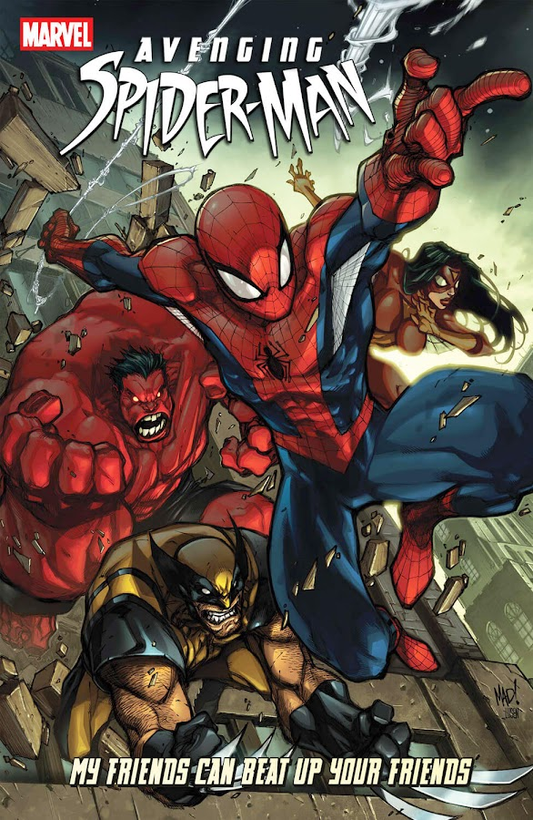 marvel comics avenging spider man