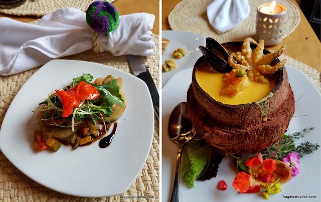 Tapado de mariscos, prato típico da Guatemala