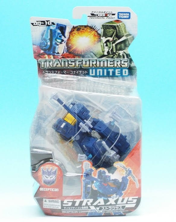 Transformers United UN-10 Straxus Darkmount Figure NEW