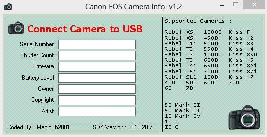 canon eos camera info v1 2 - canon eos camera info v1 2