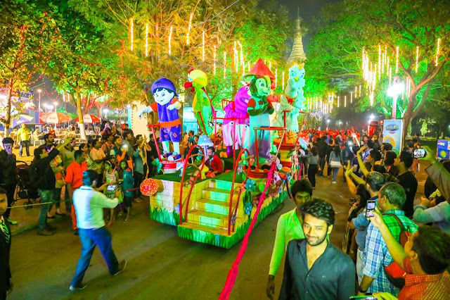 The Magical parade at EsselWorld