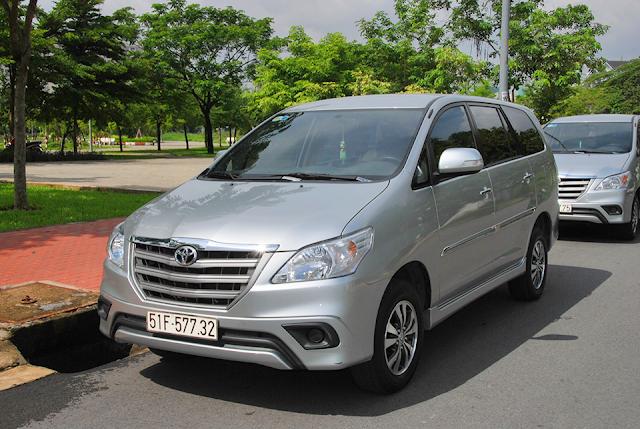 Cho thuê xe Innova 8 chỗ theo tháng tại tphcm