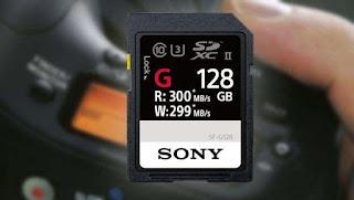 Sony lanza la tarjeta de memoria SD más rápida del mundo