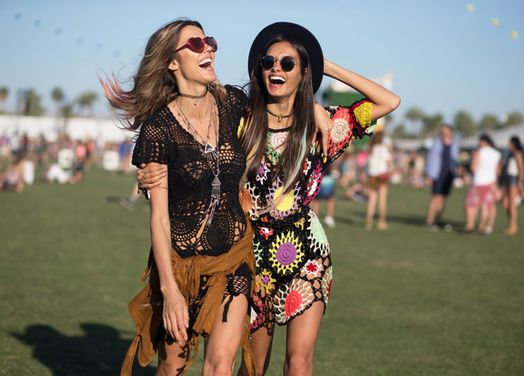 Look crochê festival música vestidos