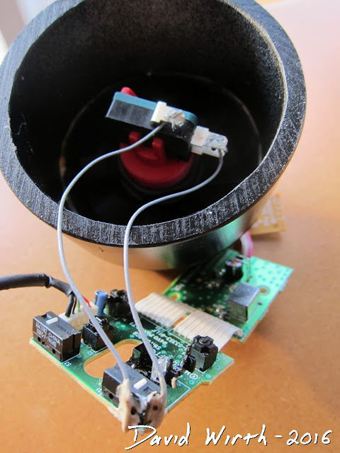 wire connect arcade button to computer mouse