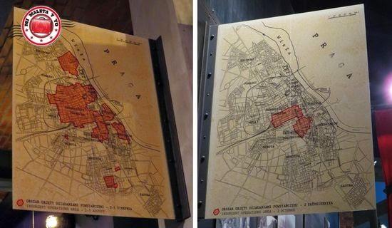 Fases de la ocupación de los insurrectos, Museo de la Insurrección de Varsovia