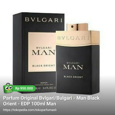 bvlgari bulgari man black orient edp 100ml man