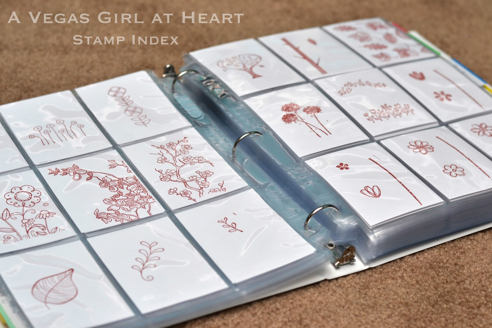 A Vegas Girl At Heart Stamp Index
