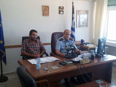 Συνέντευξη αστυνομικού διευθυντή Θεσπρωτίας,για την σύλληψη 2 ατόμων για απάτη σε βάρος ηλικιωμένων (+ΒΙΝΤΕΟ)
