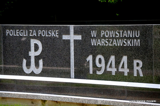 nekropolia Warszawa Warsaw cmentarze powstanie warszawskie Wola