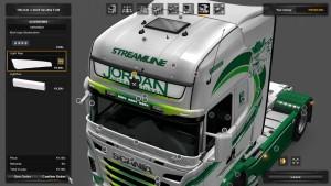 Jordan Int. Transport Skin for Scania RJL
